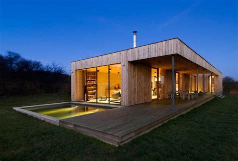 maison contemporaine en bois maison eco bois