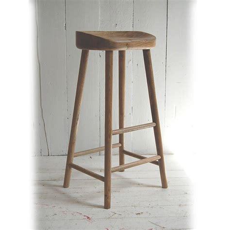 high bar stools weathered oak bar stool by eastburn country furniture