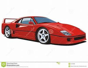Red Sports Car Stock Vector - Image: 52138582