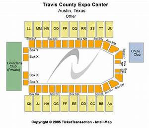 Travis County Expo Center Tickets In Austin Texas Seating