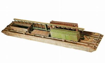 Ho Scale Wooden Carfloat Larger Waterline Version