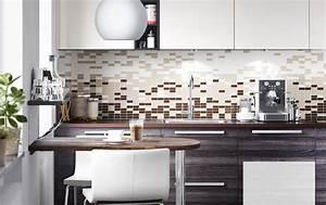 Credence Cuisine Moderne : cr dence pour cuisine styl e en 25 exemples modernes ~ Dallasstarsshop.com Idées de Décoration