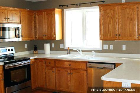 painting kitchen cabinets brown brown painted kitchen cabinets before and after kitchen 4028
