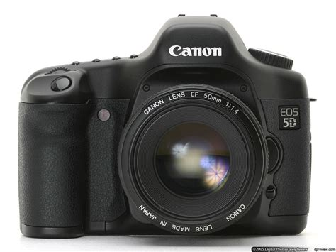 Canon EOS 5D Review: Digital Photography Review