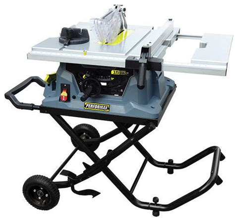 4 tile saw menards performax 10 quot worksite table saw w folding stand at menards 174