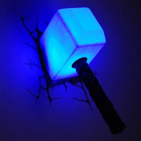 the avengers 3d wall art lights hiconsumption