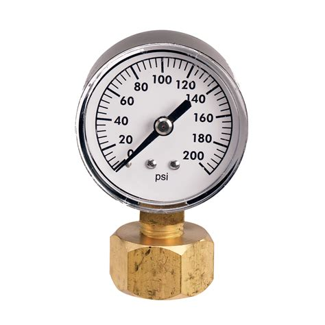 water pressure meter shop watermaster 200 lb pressure at lowes 3360