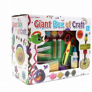 Giant Box Of Craft 1000 Pieces Hobbycraft