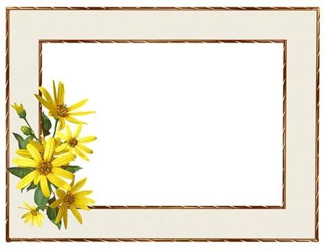 No Frames Picture 3 Piece Modern Cheap Home Decor Wall: Frame Border Yellow · Free Photo On Pixabay