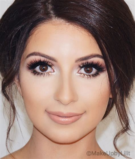 golden bridal glam makeupbylilit wedding makeup  brown eyes amazing wedding makeup