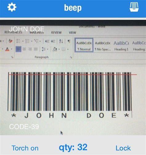 microsoft word   barcode generator