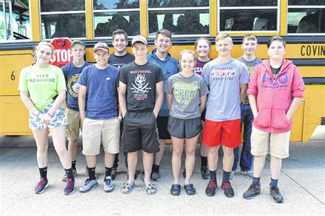 county ffa chapters attend camp troy daily news