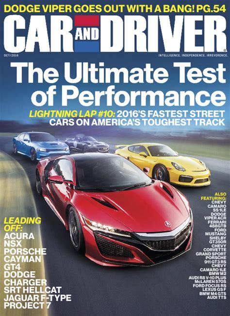 car  driver magazine intelligence independence