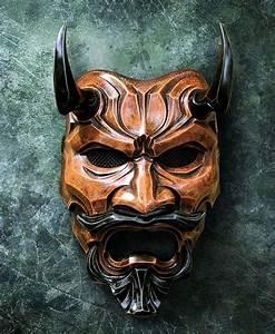 Demon Japonais Dessin : pingl par nico sur nouvelle cr a 2017 en 2019 pinterest oni mask japanese mask et masks art ~ Maxctalentgroup.com Avis de Voitures