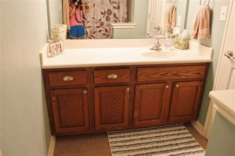 How To Chalk Paint A Bathroom Vanity Cabinet  Mail Cabinet