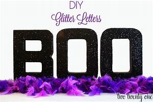 diy glitter letters mod podge With glitter cardboard letters