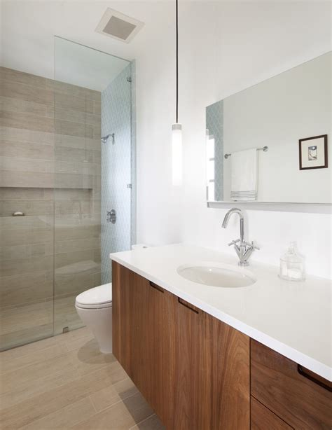 Bathroom Fixtures San Francisco by San Francisco Wood Grain Tile Bathroom Contemporary With