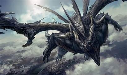 Dragon Fantasy Deviantart Heroic Terrifying