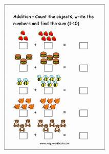 Free Printable Number Addition Worksheets  1