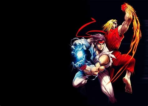 ryu ken street fighter video games background