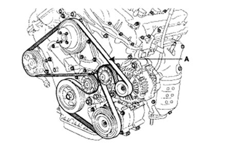 Can Show Diagram How Replace Serpentine Belt
