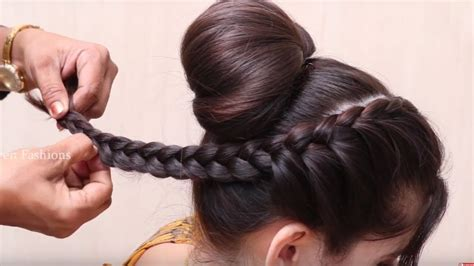 Easy And Amazing Juda Hairstyle With Bun