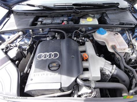 audi 1 8 t motor 2004 audi a4 1 8t quattro sedan 1 8l turbocharged dohc 20v 4 cylinder engine photo 63765525