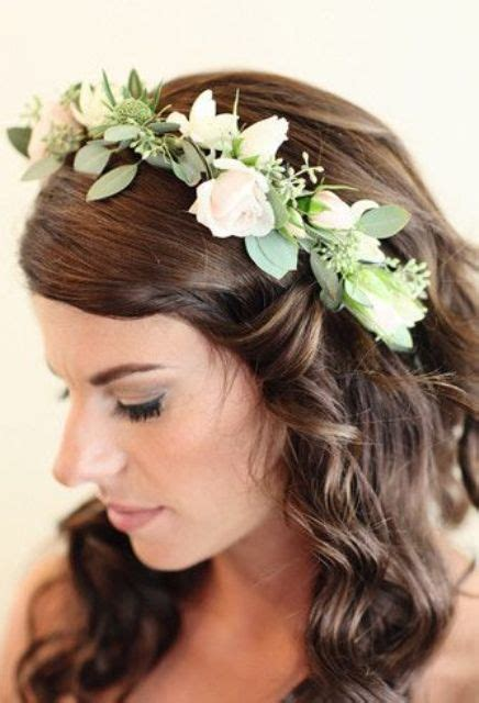 25 Stunning Spring Flower Crown Ideas For Brides