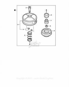 Echo Srm-225 S  N  S04113001001 - S04113999999 Parts Diagram For Trimmer Head
