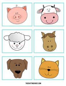 Printable Farm Animal Games