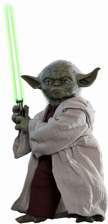 Wars Episode Yoda Clones Attack Action Scale