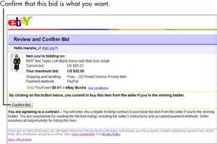 pay to bid auction how to make your high bid by proxy in an ebay auction