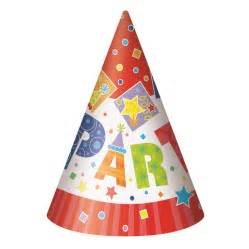 peppa pig ribbon party style general birthday party hats pack qty 8