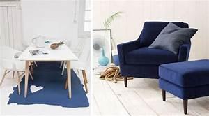 des interieurs bleu marine joli place With tapis moderne avec canapé en cuir bleu marine
