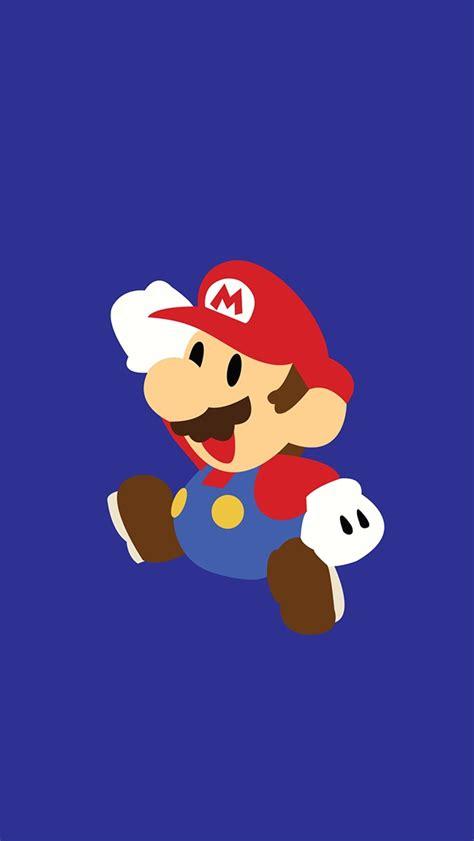 Mario Animated Wallpaper - minimal mario iphone 5 wallpaper 640x1136