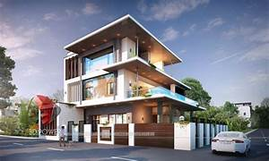 3d Rendering Of Modern Home