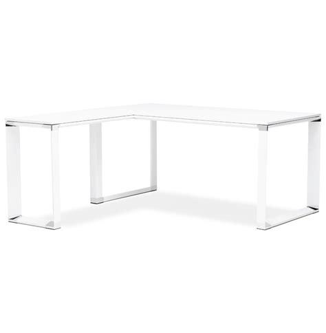 bureau d angle blanc bureau d 39 angle design xline en bois blanc bureau de