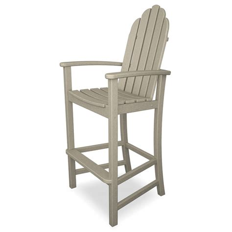Adirondack Bar Chair Woodworking Plans by Adirondack Bar Chairs Recycled Plastic Faux Wood All
