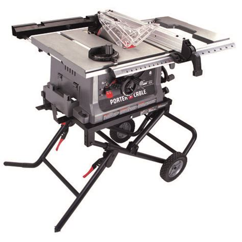 lowes portable table saw porter cable product details for 10 quot jobsite table saw