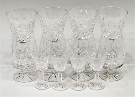 (11) Waterford Crystal 'lismore' Stemware Group