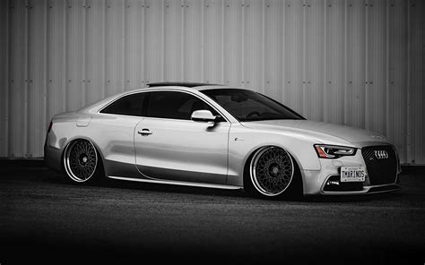 audi s5 tuning fonds d ecran audi tuning s5 stance blanc voitures t 233 l 233 charger photo