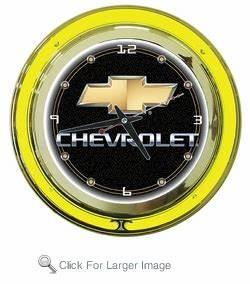 Chevy Neon Clock only $99 99 Auto Neon Clocks