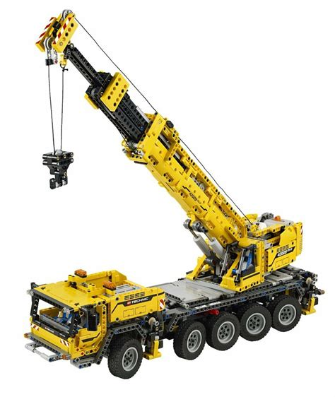 lego technic  mobile crane mk ii   pieces