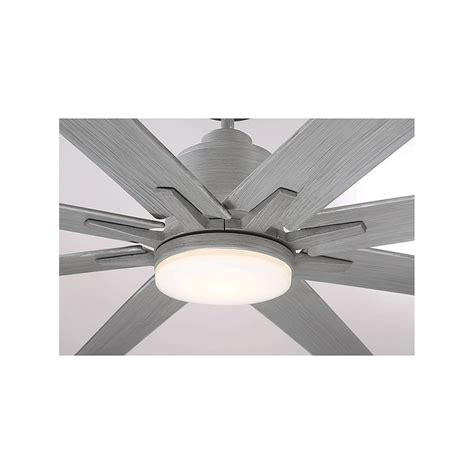 Savoy House Bluff Grey Wood Led 72 Inch Outdoor Ceiling