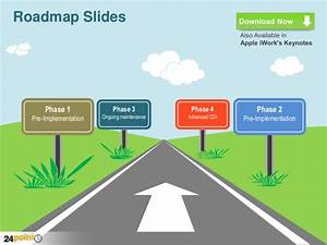 Roadmap slides powerpoint business templates for Road map powerpoint template free