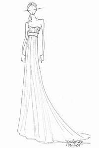 358 best images about wedding gown sketches on pinterest With croquis de robe