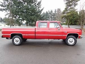 1987 Chevrolet 3500 C30 K30 3 3 Crew Cab Long Bed 1988
