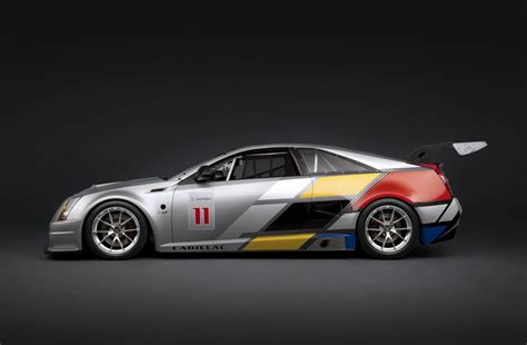 cadillac cts  coupe race car auto cars concept
