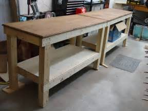 kitchen island on casters workbench plans 5 you can diy in a weekend bob vila