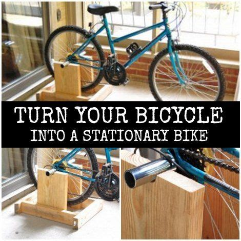 DIY Stand To Turn Your Bicycle Into A Stationary Bike ...